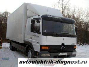 Ремонт мерседес атего (Mercedes-Benz Atego)