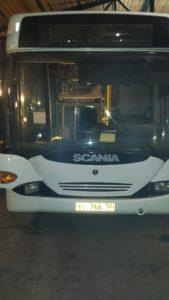 Ремонт электропроводки автобуса Скания.