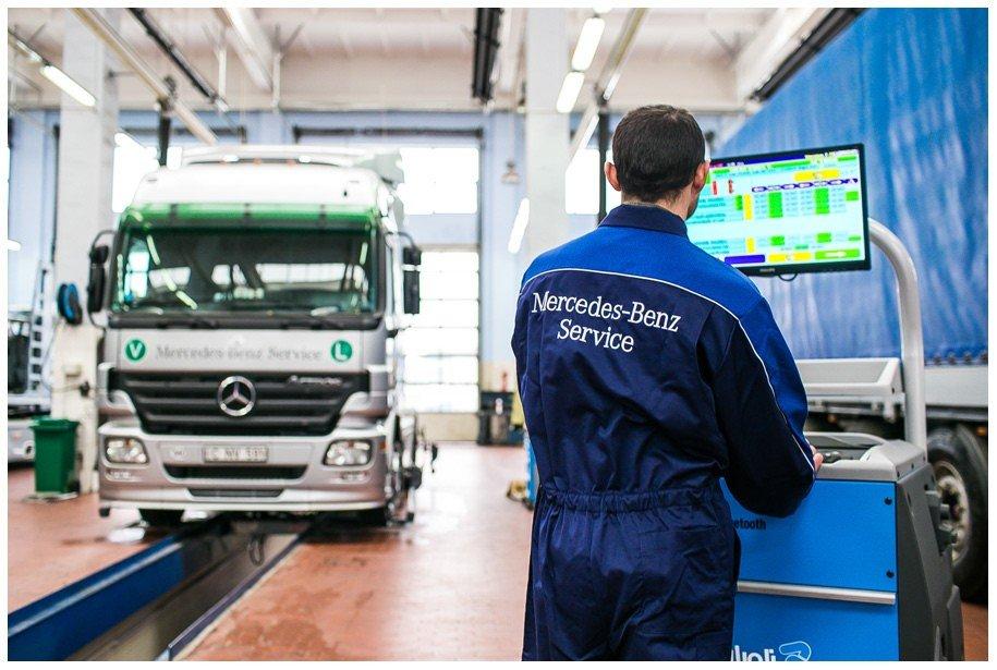 Mercedes Atego автоэлектрик