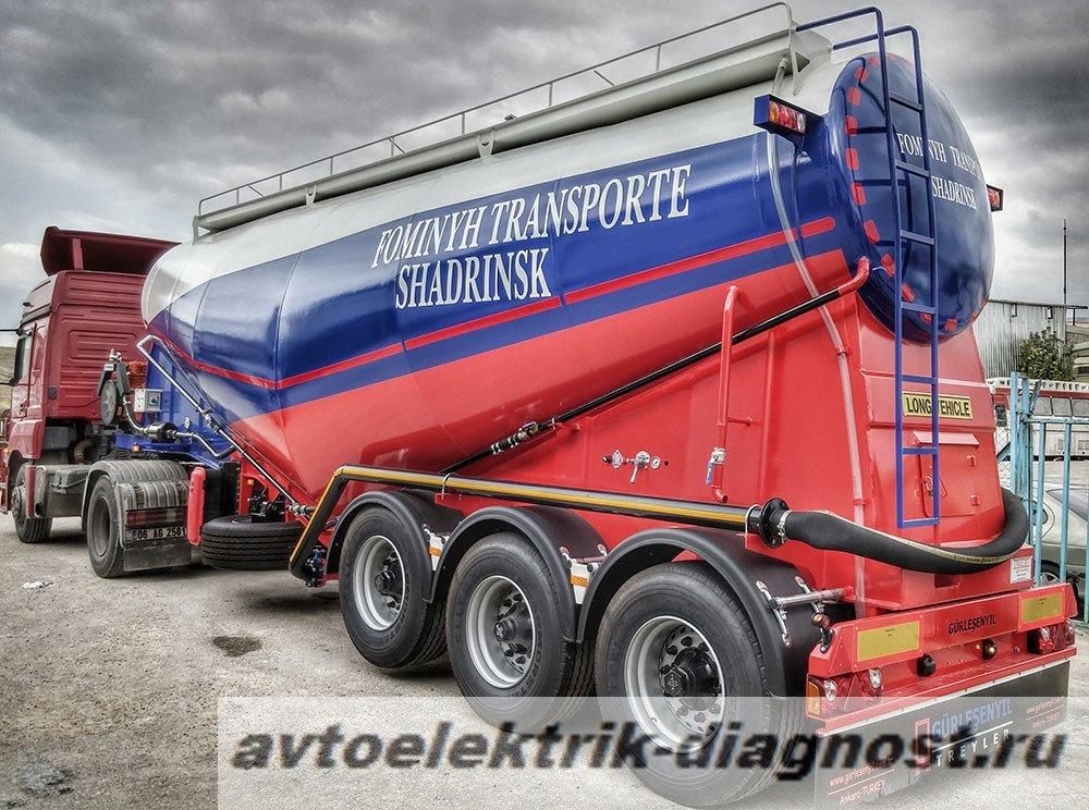 Ремонт грузовых прицепов